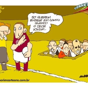 Corneta FC: Vasco continua com medo de jogar sem Dedé