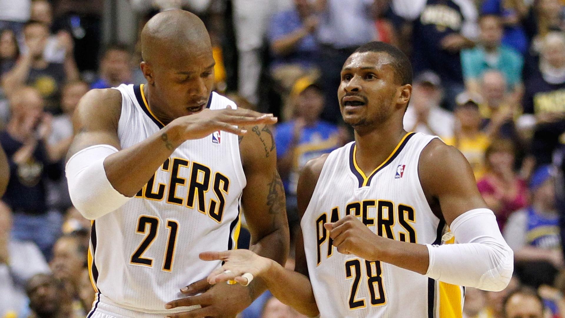 Leandrinho teve boa atuação na vitória do Indiana Pacers contra o Orlando Magic