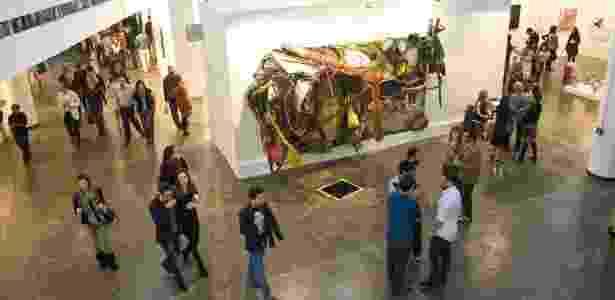 Abertura da SP Arte no Pavilhão Ciccillo Matarazzo, em São Paulo (9/5/2012) - Alf Ribeiro/Folhapress