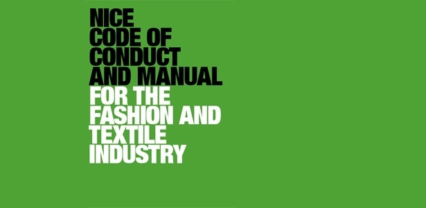 Capa do código de conduta Nice, criado pela Associação Nórdica da Moda - Reprodução