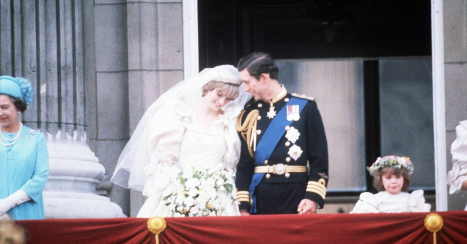 Casamento Lady Di e Príncipe Charles