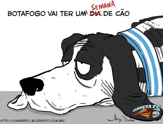 Corneta FC: Botafogo terá uma semana de cão