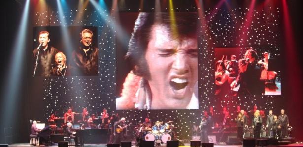 """Imagem do show """"Elvis Presley in Concert"""" que chega em outubro ao Brasil - Divulgação"""