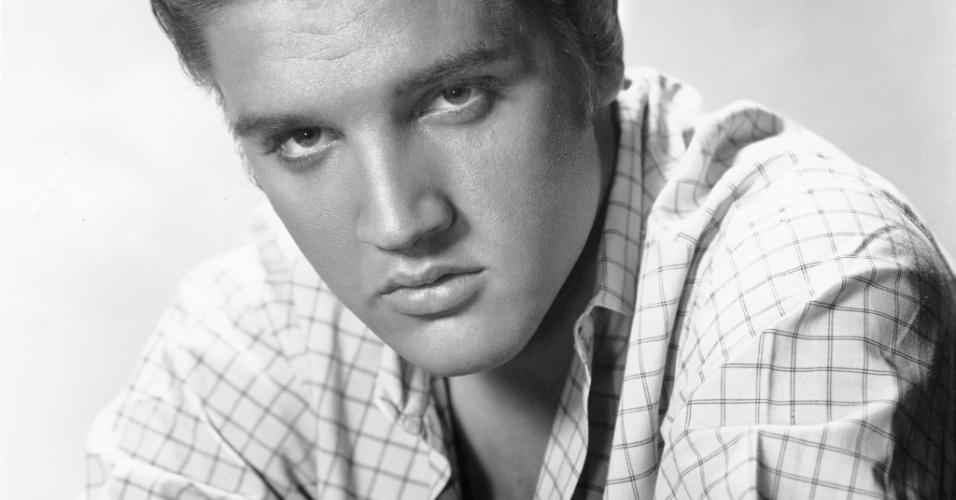 """A foto é um dos itens da exposição """"The Elvis Experience"""", que chega ao Brasil em setembro de 2012. (10/5/2012)"""