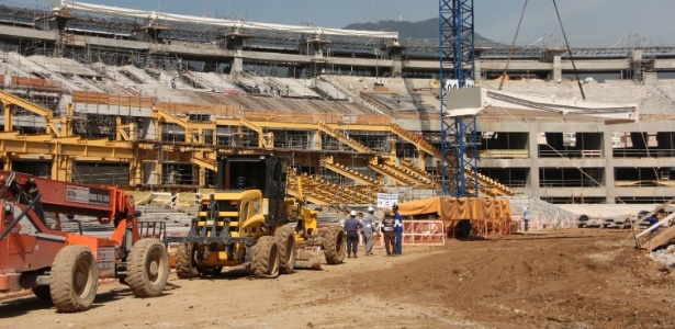 Em obras, estádio do Maracanã deve ser usado da Copa das Confederações no ano que vem