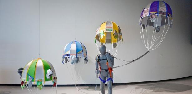 """Obra de Lucy + Jorge Orta, que integra a mostra """"Fabulae Romanae"""", em cartaz até 23 de setembro de 2012 no MAXXI, em Roma - Cecilia Fiorenza/Fondazione MAXXI"""