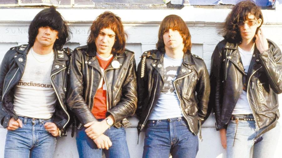 A banda punk Ramones - Divulgação
