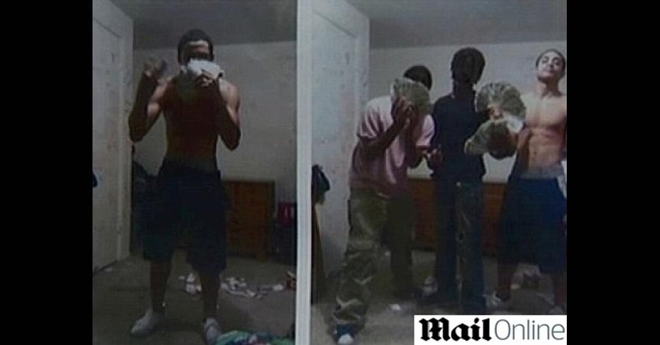 A polícia de Pittsburgh (EUA) prendeu três adolescentes que haviam roubado uma loja da cidade no dia seguinte ao crime