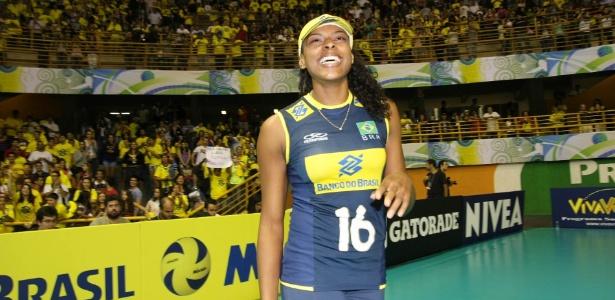 Fernanda Garay foi um dos destaques da seleção no Pré-Olímpico, em São Carlos