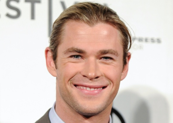 Chris Hemsworth no Festival de Tribeca em Nova York (28/4/12)