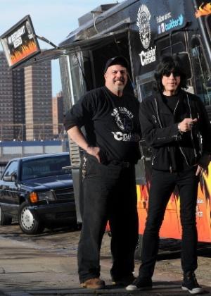 O cozinheiro Keith Album e Marky Ramone (2012)