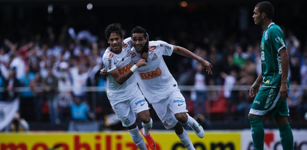 Alan Kardec e Neymar se tornaram amigos nos tempos de Santos