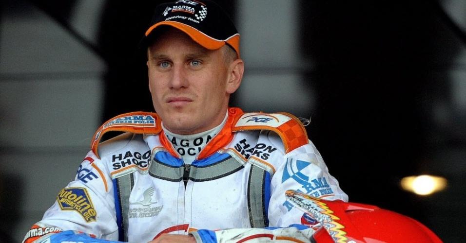 Piloto de motovelocidade Lee Richardson morreu após acidente na Polônia (14/05/2012)