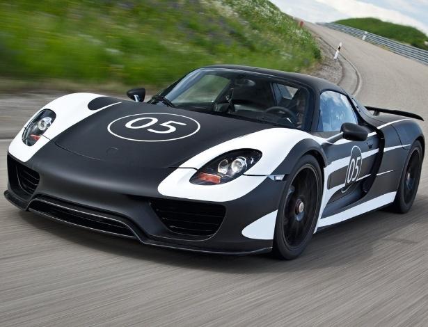 Lançamento do 918 está marcado para o Salão de Frankfurt de 2013. Serão apenas 918 carros - Divulgação
