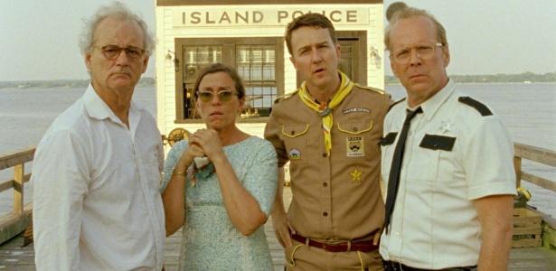 """Cena do filme """"Moonrise Kingdom"""", de Wes Anderson, que abre o Festival de Cannes 2012"""
