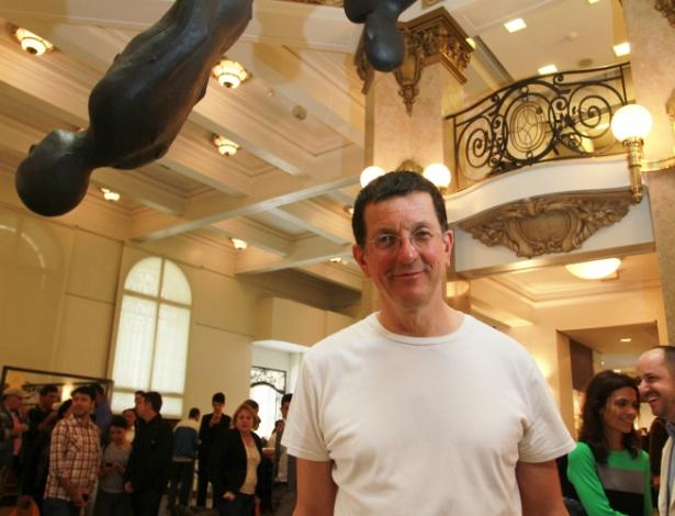 """O artista inglês Antony Gormley participa da abertura da exposição """"Corpos Presentes"""", no CCBB - Brazil Photo Press"""