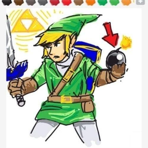 """Aqui, um usuário se aproveitou de um item famoso da série """"The Legend of Zelda"""" para transmitir a palavra """"bomb"""""""
