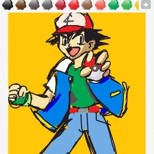 """""""Ash"""" quer dizer cinzas, em inglês, mas também vale desenhar o protagonista dos primeiros """"Pokémon"""""""