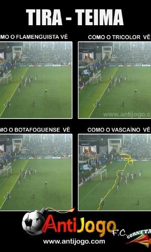 Corneta FC: Entenda como o vascaíno vê o tira-teima