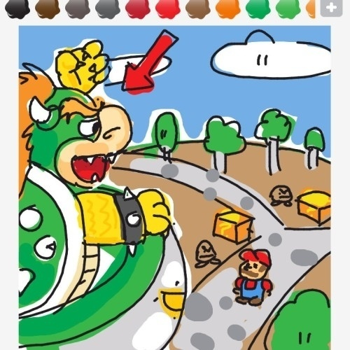 """Eis uma outra visão para """"Super Mario World"""", o primeiro game do bigodudo para o Super Nintendo"""