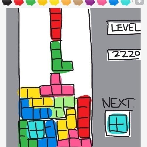 """Esse é bem fácil, já que se trata de um dos jogos mais famosos de todos os tempos, """"Tetris"""""""