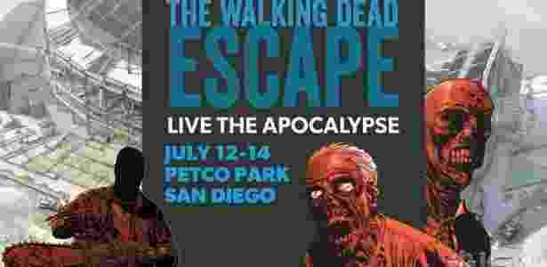 """Imagem de divulgação de """"Walking Dead Escape"""" - Reprodução"""