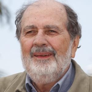 O cineasta brasileiro Cacá Diegues, presidente do júri da Câmera de Ouro do Festival de Cannes 2012 no evento (17/5/12)