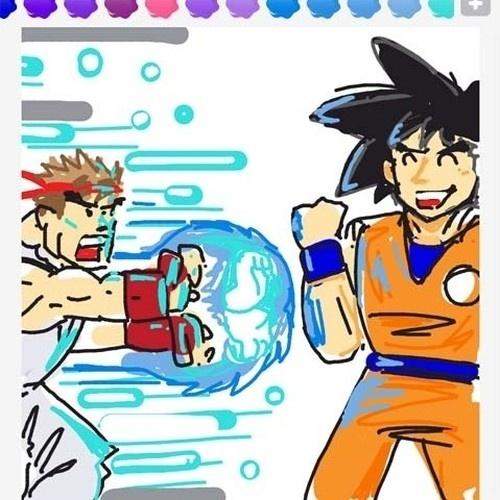 """O famoso Hadouken, golpe do personagem Ryu (de """"Street Fighter""""), não é exatamente uma """"fireball"""" (bola de fogo), mas a ideia é essa"""