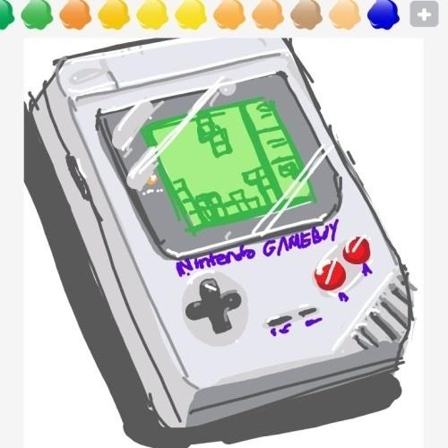 """O Gameboy foi usado para representar seu jogo de maior sucesso, """"Tetris"""""""