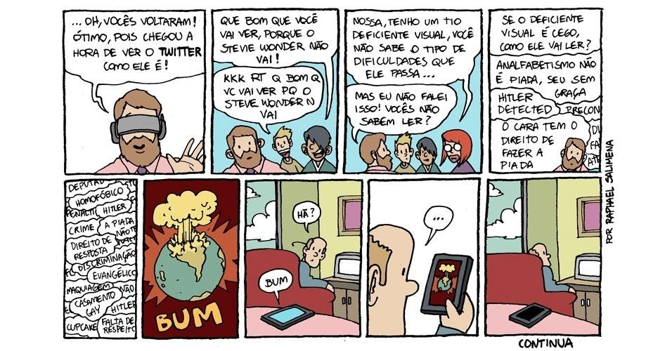Por dentro das redes sociais
