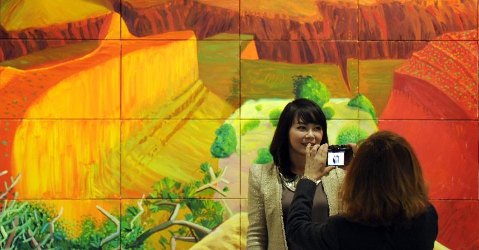Quadros pintado com iPad de David Hockney, 74
