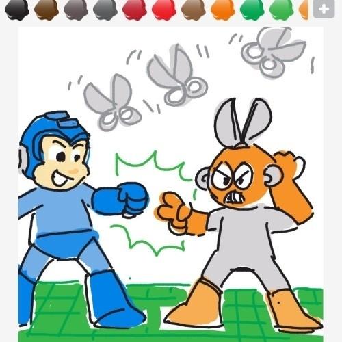 """Se fosse disputado no jogo do pedra-papel-tesoura, """"Mega Man"""" não seria um game tão difícil, ao menos contra Scissor Man"""