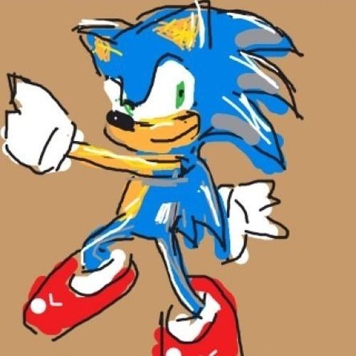"""Taí mais uma versão de Sonic desenhado em """"Draw Something"""""""