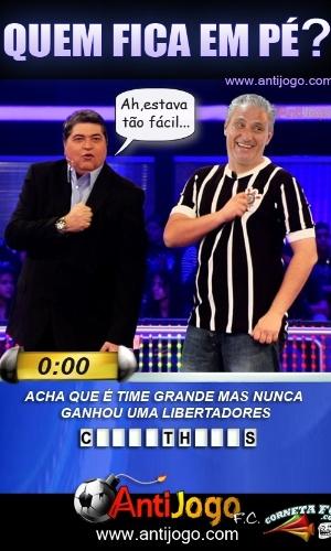 Corneta FC: Tite participa de brincadeira com Datena