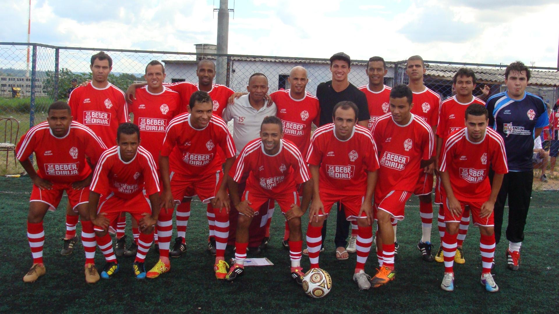 Leandro Damião visita o Nós Travamos na Copa Kaiser 2012