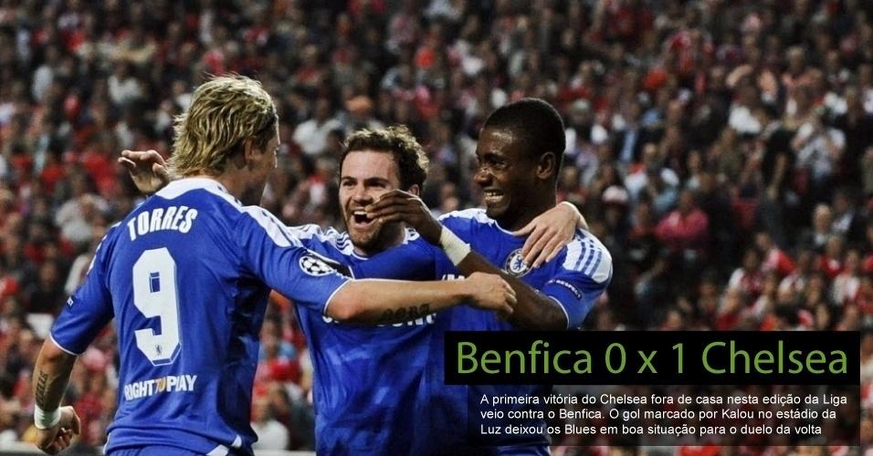 Benfica 0 x 1 Chelsea