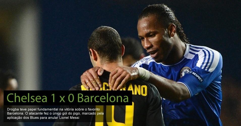 Chelsea 1 x 0 Barcelona