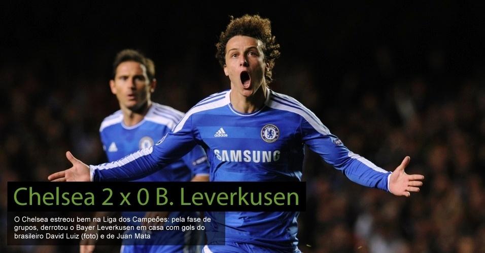 Chelsea 2 x 0 Bayer Leverkusen