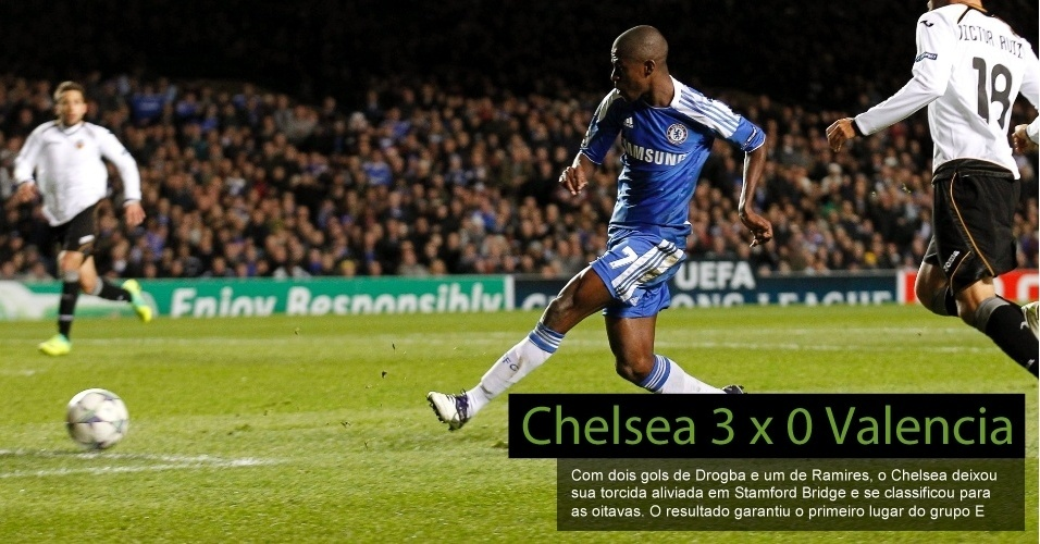 Chelsea 3 x 0 Valencia