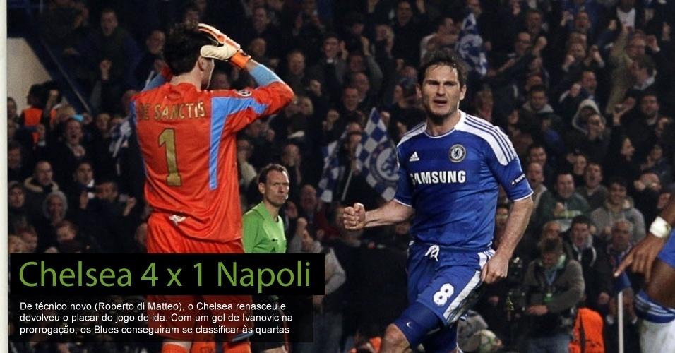 Chelsea 4 x 1 Napoli