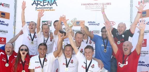 Lokomotiv ficou com o título do Mundialito após vencer o Flamengo