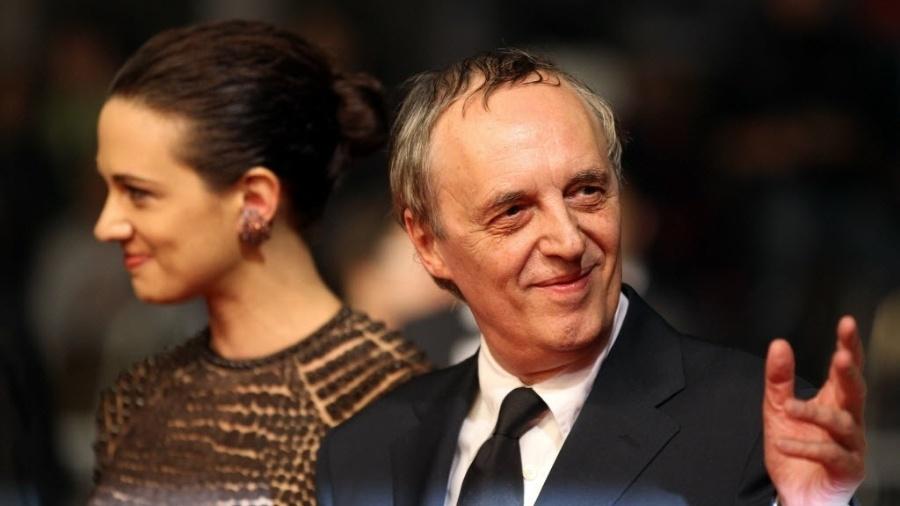 O diretor italiano Dario Argento e sua filha, Asia - AFP