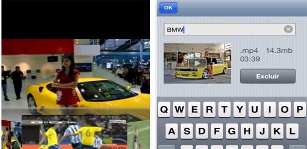 Aplicativo inclui ferramenta de busca, permite trocar nome dos vídeos e armazena até dez arquivos