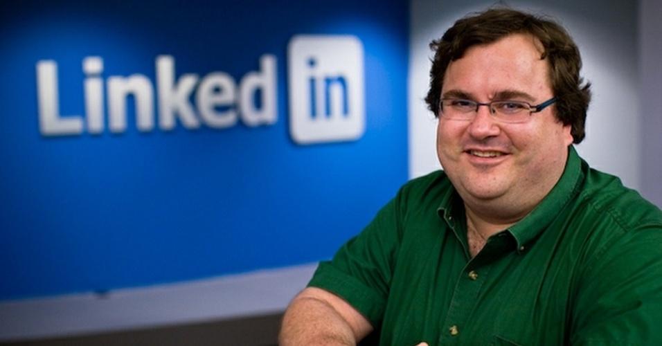 O empreendedor Reid Hoffman ajudou a fundar o Linkedin e participou da criação do PayPal