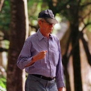 O escritor Dalton Trevisan em uma de suas raras fotografias - Nani Gois