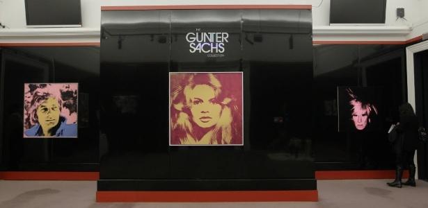 Coleção de Gunter Sachs inclui a fotografia de Richard Avedon de sua ex-mulher, a atriz francesa Brigitte Bardot - AP Photo/Sang Tan