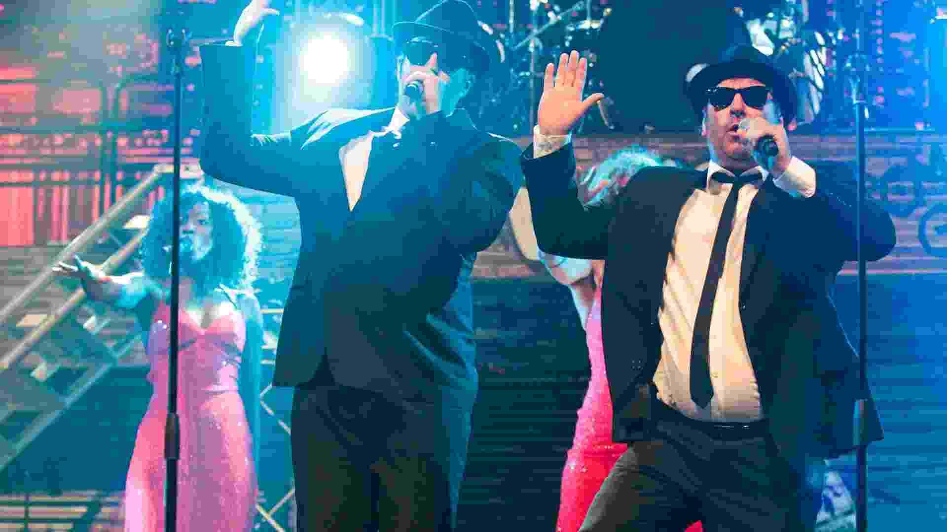 """O espetáculo """"The 'Official' Tribute To The Blues Brothers - The Smash Hit"""" terá duas apresentações em São Paulo: uma nesta quarta-feira (23) e a outra no sábado (26)  - Fernando Donasci/UOL"""