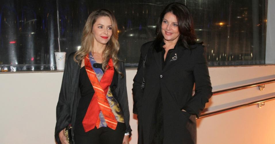 Bianca Rinaldi e Sonia Lima em evento no Rio de Janeiro (8/5/12)