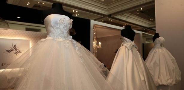 Exposição de vestidos da estilista Solaine Piccoli na Casar 2011 - Monalisa Lins/UOL