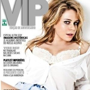 Leadra Leal estampa a capa da edição de junho de 2012 da revista